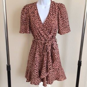 NWOT gorgeous leopard print dress